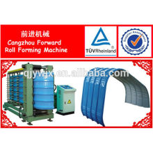 Vorwärts-halbautomatische Dachblech-Kräuselungs-Maschine