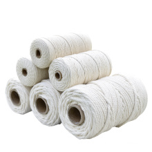 Factory Cheap Price 2mm-40mm Natural Fiber Cotton Rope