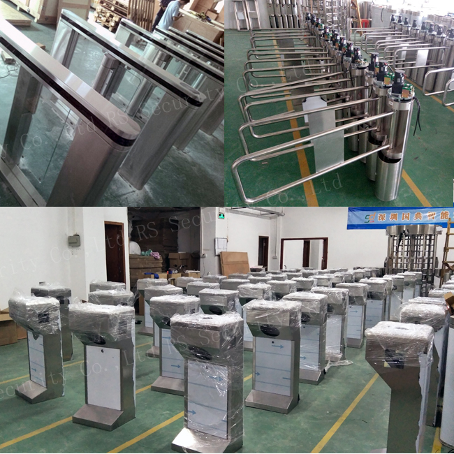 Security Turnstiles Door
