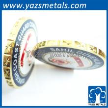 Custom high quality brass token