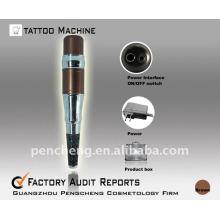 Maquillaje permanente ceja tatuaje pluma máquina kit