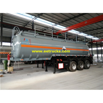 Tri-eje 25000L Nitric Acid Tank Trailers