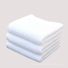 100% Cotton Disposable Compressed Hand Bath Towel, Embroidery White Hotel Travel Towel