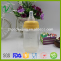 Frasco de plástico vazio personalizado de produtos alimentícios PP para produtos lácteos à venda