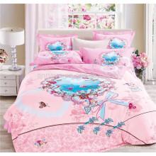 100 Хлопчатобумажные ткани Одеяло из Китая Завод постельное белье 3D комплект постельного белья