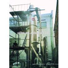 Pressure type spray cooling granulation dryer for chalk