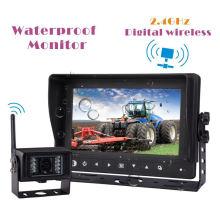 Waterproof Wireless LCD Monitor for Farm Tractor, Combine, Cultivator, Plough, Trailer, Truck