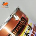 Varios tipos de hebillas metálicas para latas