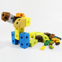 Juguete de la educación Eco-Friendly EVA Foam Soft Toy Block 49PCS (10250562)