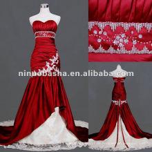 Schatz Ausschnitt Boutique Meerjungfrau Red Brautkleid