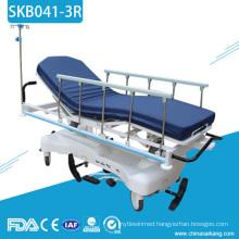 SKB041-3R China Hospital Patient Transport Trolley