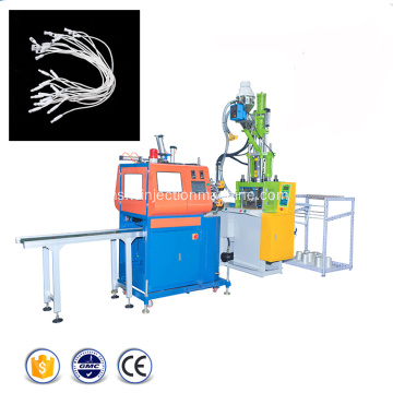 String Cloth Seal Hang Tag Injection Molding Machine
