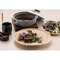 Меламина деревянная, как прямоугольник блюдо/суши пластины/тарелку (NK13811-09)