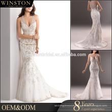 Best Selling tulle hexagon bubble skirt wedding dress