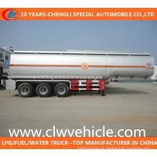 Reboque do petroleiro do combustível do eixo 50cbm 3-Axle