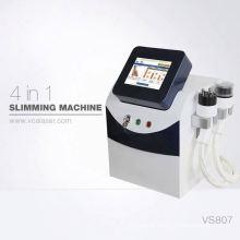 Máquina de emagrecimento de corpo mais recente de terapia de vácuo de ultra-som