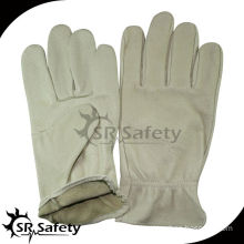 SRSAFETY wing thumb construction leather gloves with driver style