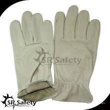 SRSAFETY крыло большого пальца руки кожаные перчатки с водителем стиль