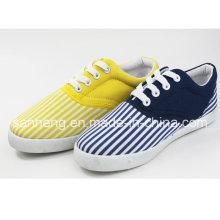 Injection de PVC pour chaussures de toile pour femmes (SNC-01037)