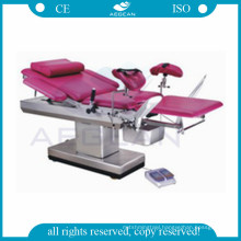 AG-C102B multifunctional electric obstetric hospital birthing gynecological exam bed