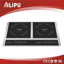 2014 Kitchen Appliance Portable 2 Cocina Quemador 3600W Schott Ceran Glass Cocina eléctrica de inducción