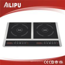 2014 Kitchen Appliance Portable 2 Cooking Burner 3600W Schott Ceran Glass Electric Induction Hob