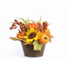 La récolte en gros abrite des arrangements floraux