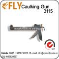 Arma de sellado del silicón del poliuretano de la PU del acero inoxidable de la venta directa de la fábrica
