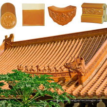 Popular Colours Chinese Temple Roofing Clay Troditional China Royal Roof Tile
