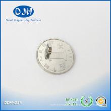 Mag 7 * 2mm N35 Grade Nickel Kupfer Nickel beschichtete Axial Magnetisierung