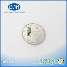 Mag 7 * 2mm N35 Grade Nickel Copper Nickel Coated Axial Magnetization