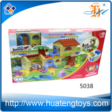 New Fashion creative house kids play and learn blocks toys