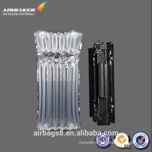 toner cartouche air rempli de colonne sac gonflable en plastique