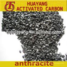 Aditivo de carbono 95% FC Preço de carvão antracite calcinado de qualidade superior