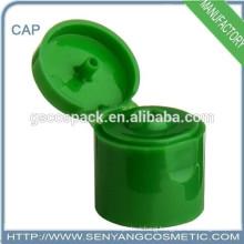 good quality 24mm plastic bottle cap special customized flip top bottle cap