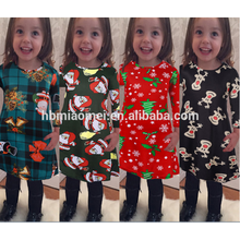2017 Christmas Girl Party Dress Children Frocks Designs New Model Girl Dress
