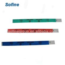 Tyvek Wristband & Id Armbänder, Stoff Armbänder für Veranstaltungen