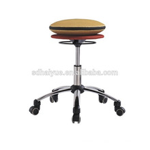 2017 Haiyue Hot selling Optional Colorful Fabric Air Cushion Balance Chair for Office Exercise Use HY3002
