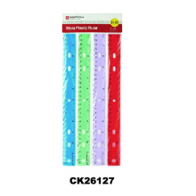 Colorful Plastic Straight 30cm Ruler