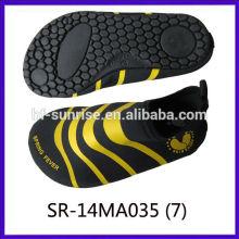 SR-14WA035-7 Zapatos de lujo de la playa de los cabritos para los zapatos del agua de los zapatos del agua del agua zapatos que practican surf