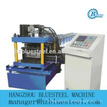 Machine à formage de rouleaux de canaux C à fente / Machine à fabriquer des chaînes de support perforées