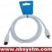 CABLE DE FIREWIRE 6FT 6 A 4 PIN IEEE 1394 iLINK PC MAC