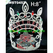 custom Christmas Tree tiara and crown
