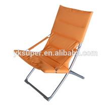 Cadeiras de praia dobráveis baratas, espreguiçadeira reclinável