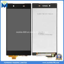 Pantalla LCD original con pantalla táctil con marco para Sony Xperia Z5