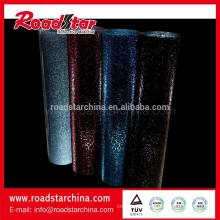 Rolled metallic reflective glitter film