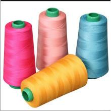Fil de fil de couture 100% polyester filé