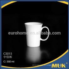 Restaurante puro de cerámica de la venta del hotelware tazas de café