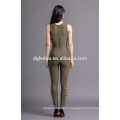 Sexy style adult one piece jumpsuit sleeveless bodycon jumpsuit