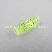 Nível de bolha do tubo (diâmetro / comprimento de 6mm X / 20mm)